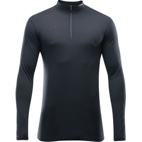 Devold Breeze Half Zip Neck Man Black